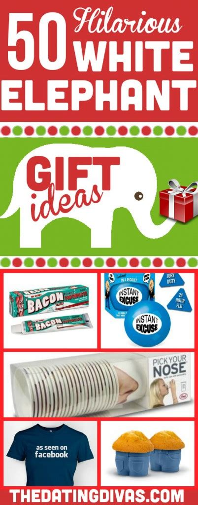 50 hilarious and creative white elephant gift ideas the