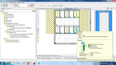 dcim design layout with device association issue