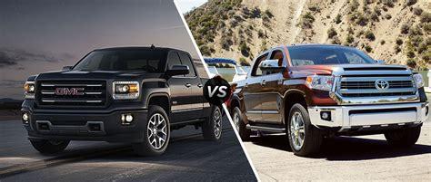 toyota tundra vs gmc 2014 yukon vs tundra html autos weblog