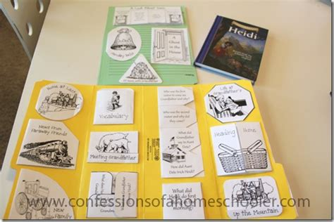 heidi book report heidi unit study confessions of a homeschooler
