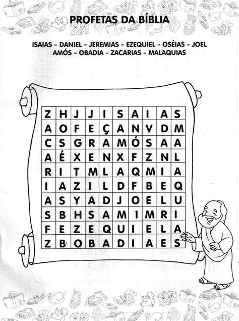 Material para o ministério infantil: caça- palavras