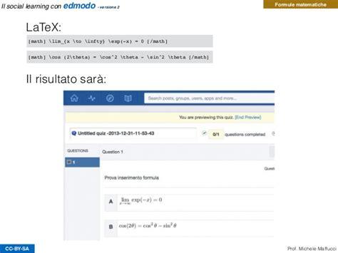 edmodo italiano il social learning con edmodo versione 2
