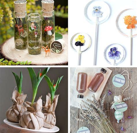 Garden Wedding Favors 30 sweet handmade ideas for garden wedding favors