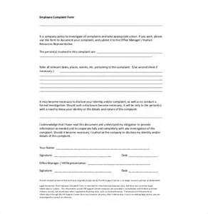 bullying and harassment policy template 15 hr complaint letter templates free sle exle