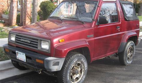jeep daihatsu cars daihatsu rocky jeep cars mg