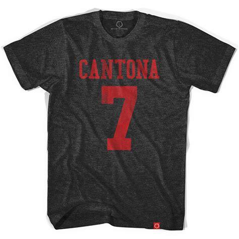 Aaf Cantona 1 T Shirt eric cantona manchester united 7 t shirt placeholder