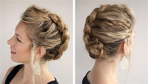 peinados de fiesta para pelo no tan largo hermosos peinados pelo rizado para todos los d 237 as