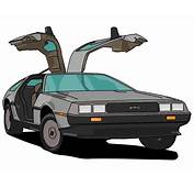 Delorean Vector  ClipArt Best