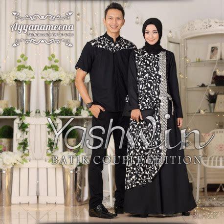 Gamis Batik Syar I Premium Toska Kemeja batik muslim yashwin by ayyanameena pusat