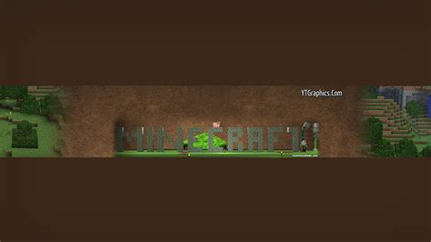 minecraft channel template minecraft channel 6 channel banners