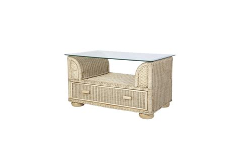 wicker or rattan coffee tables brook wicker rattan conservatory furniture coffee table