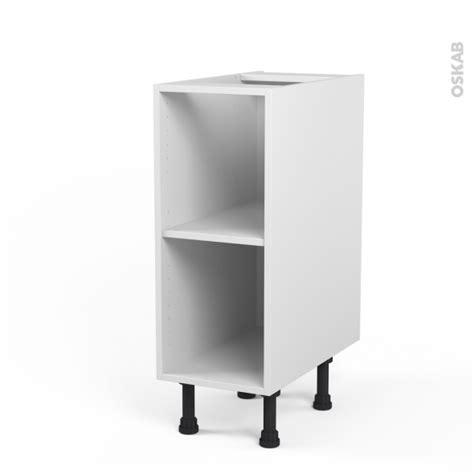 caisson cuisine 30 cm caisson bas n 176 4 meuble de cuisine l30 x h70 x p56 cm