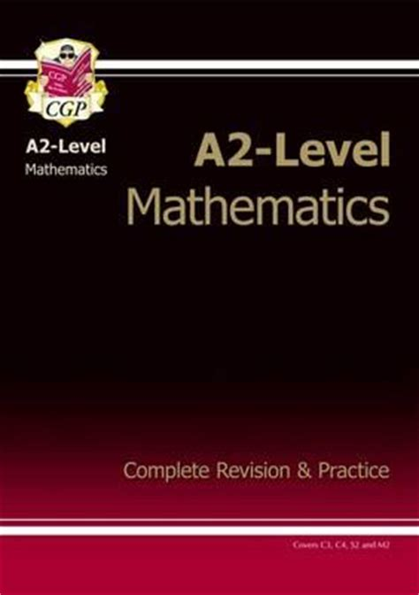 libro maths revision guide a2 level maths revision guide cgp books cgp books 9781847625885