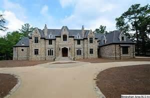 Luxury Beach House Floor Plans 16 000 Square Foot Stone Mansion In Birmingham Al Homes
