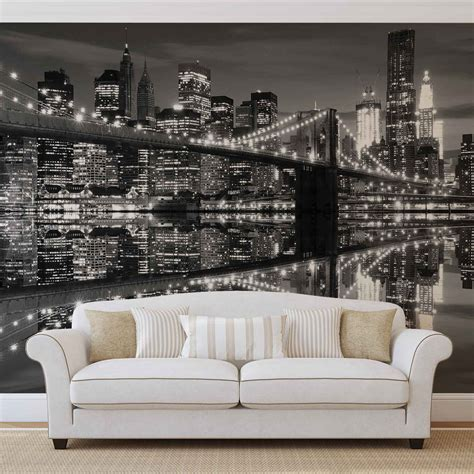 wall murals city new york city wall mural photo wallpaper 1819dk ebay