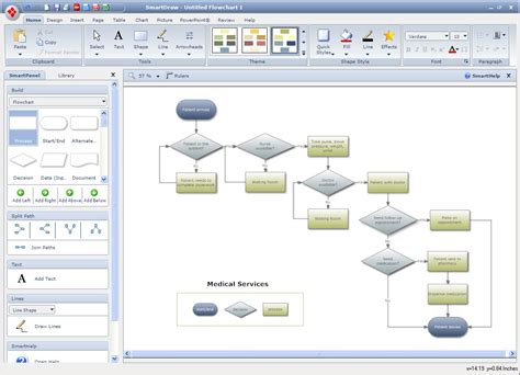 visio flowchart software 7 best images of creating visio flowcharts visio cross