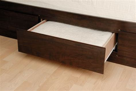 prepac queen platform storage bed with 6 drawers prepac coal harbor collection queen mates espresso