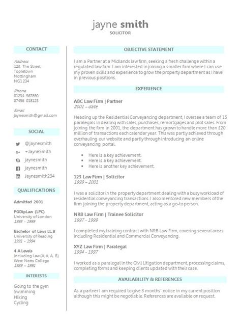 template cv for solicitor legal cv template free download in ms word from how to