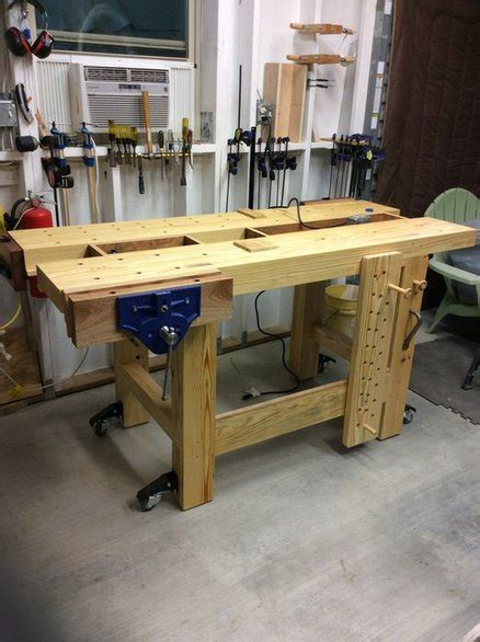 my first work bench my first joiner s workbench by curliejones lumberjocks
