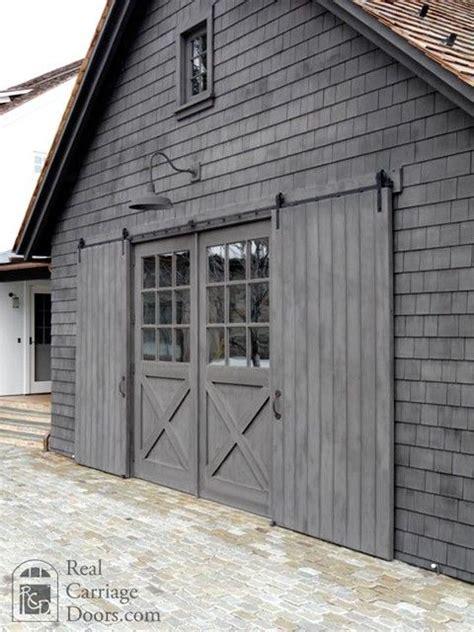 Real Carriage Garage Doors Sliding Barn Door Shutters Garage Doors By Real Carriage Door Company My Style