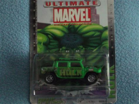 Hummer Original Clothing Aprodhite Green ultimate marvel comics die cast metal car mint green