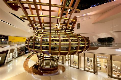las vegas interior designers shopping mall crystals from las vegas interior design design news and architecture