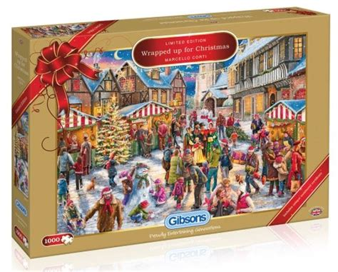 holiday gifts gadgets for everyone jigsaw puzzle all wrapped up for christmas 2017 limited edition