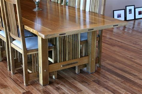 Craftsman Dining Room Table Craftsman Dining Room Table Chair Morris Sign By Schroeder Lumberjocks Woodworking