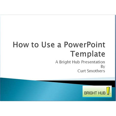 Tips On Using Microsoft Powerpoint Template Design Using Microsoft Powerpoint Templates