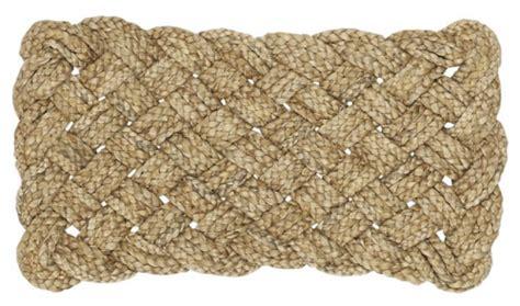 Braided Doormat Some Modern Doormats Design Ideas Inhabit