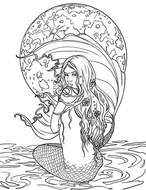coloring pages of real mermaids 268 best images about coloring pages sea mermaid etc