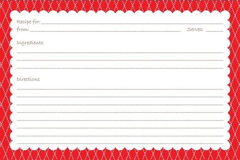 free template for 3x5 recipe cards 27 free printable recipe card sets recipe cards card