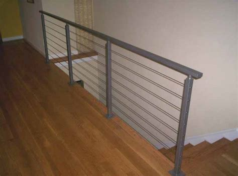 Wire Banister by Hercules Fence Commercial Fencing And Ironworks