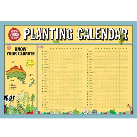 Planting Calendar Planting Calendar The Veggie Patch Co