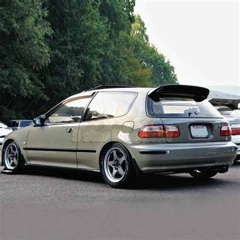 Honda Civic 95 by For 92 95 Honda Civic Coupe Window Wind Deflector