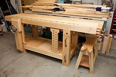 roubo woodworking bench split top roubo workbench by briant lumberjocks com