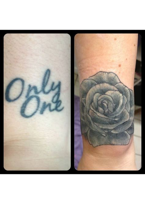 rose coverup tattoo black and grey cover up tattoos