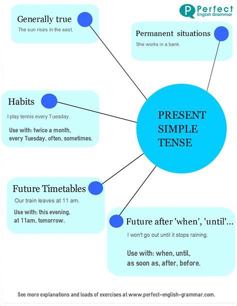 simple present tense present simple use