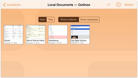 Outliner Folder by Omnioutliner 2 9 6 For Ios User Manual The Omni