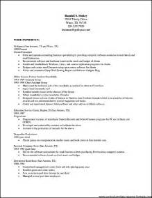 Open Office Resume Templates Free by Free Resume Templates For Openoffice Free Sles
