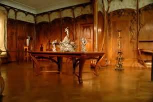 Art Nouveau Wall Sconce Art Nouveau Paneling And Furniture Mus 233 E D Orsay