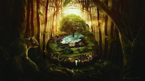 amazing jungle photo manipulation hd wallpaper wallpaperfx
