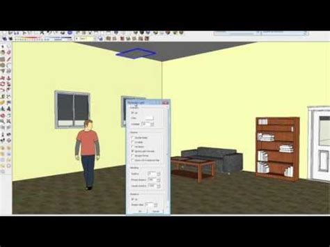 tutorial vray sketchup luz tutorial luz v ray for sketchup youtube