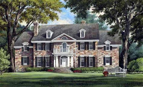 historic plantation house plans colonial plantation southern house plan 86213