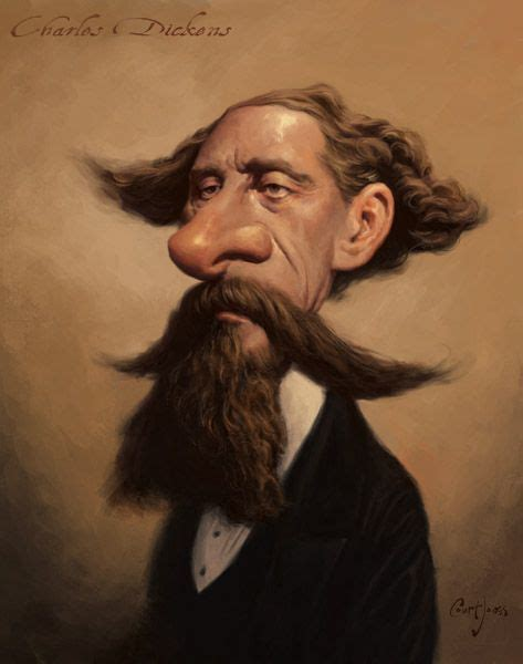 charles dickens a e biography answers charles dickens by court jones caricatures pinterest