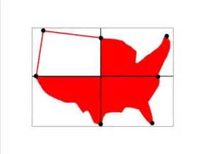 us map easy to draw how to draw a map of the united states of america