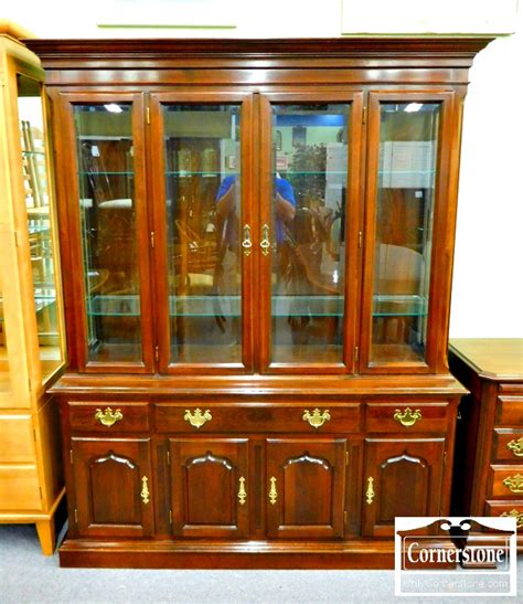 vintage cherry wood china cabinet antique cherry wood china cabinet colonial furniture solid