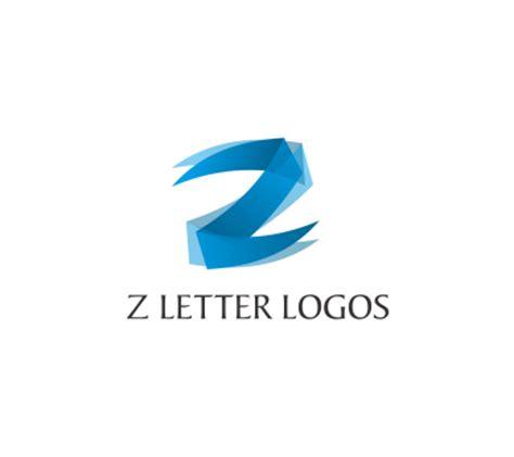 logo alphabet a z z letter alphabit fashion colourful blue vector logo