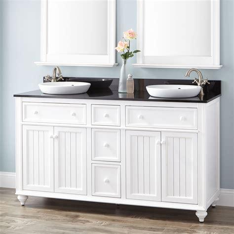 Cottage Style Bathroom Vanities Cabinets Bathroom Wood Sink Vanity Signaturehardware
