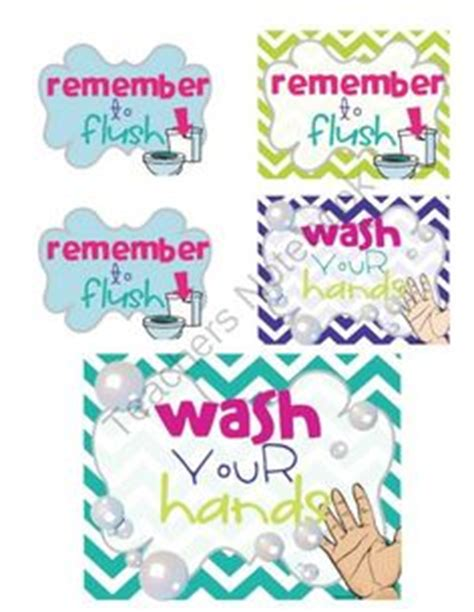 bathroom signs for classroom toilet signs sb412 sparklebox kids pinterest